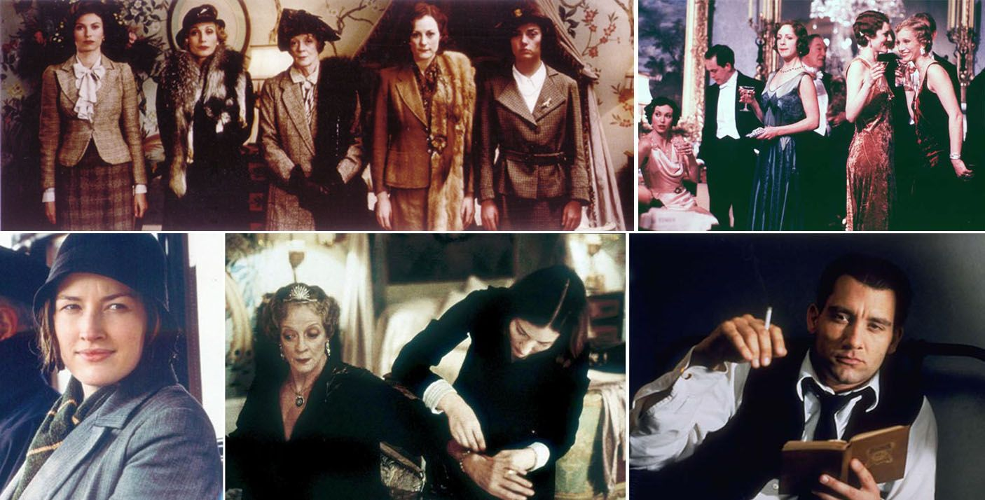 Pin on Visual cinematic perfection  |Gosford Park Costumes