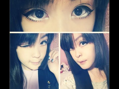 Http Www Youtube Com Watch V Hkzco401ofo Anime Eyes Circle Lenses How To Get Bigger
