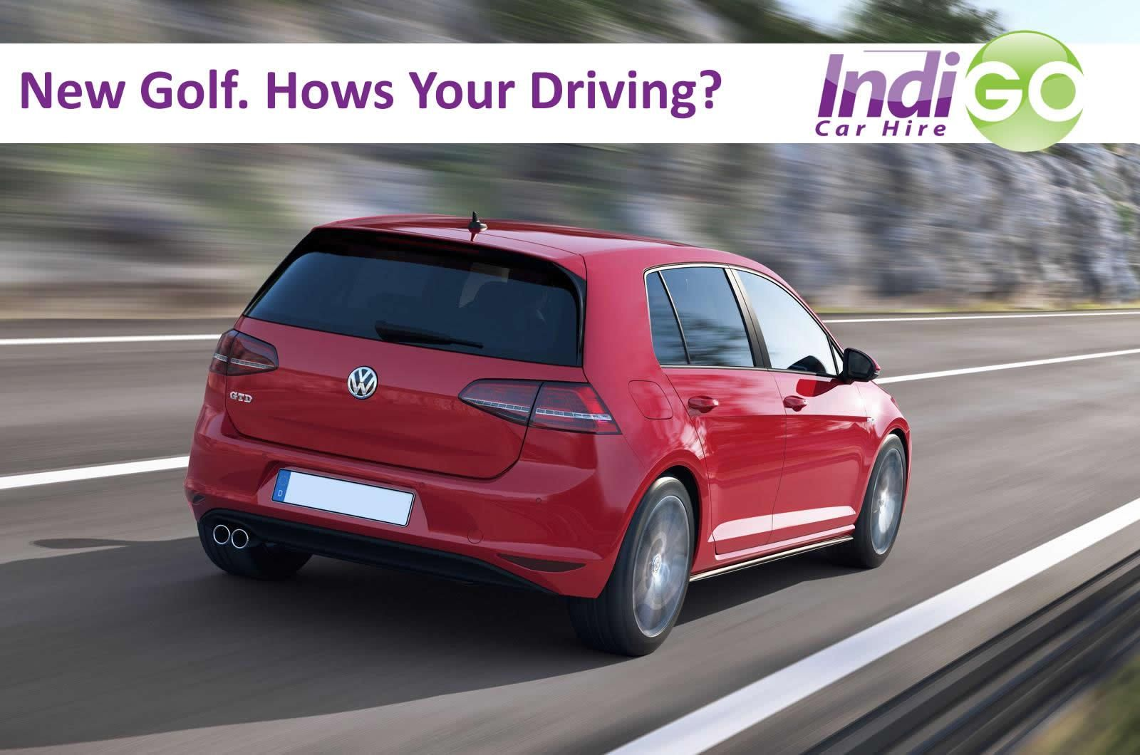 The new VW Golf out now, want to try it out for yourself
