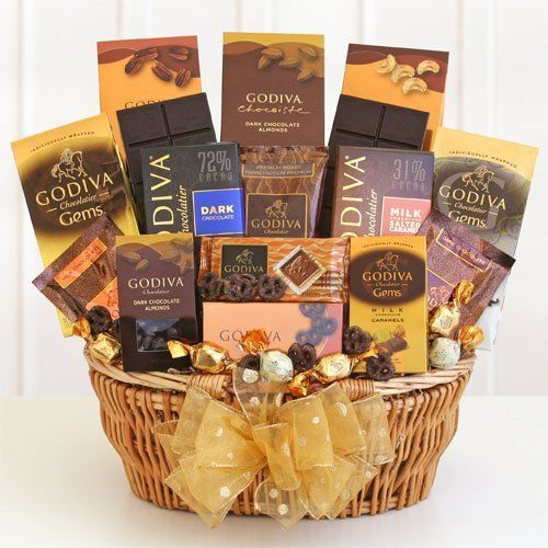 Godiva chocolate deluxe gift basket by g chocolate pinterest godiva chocolate deluxe gift basket by g negle Choice Image