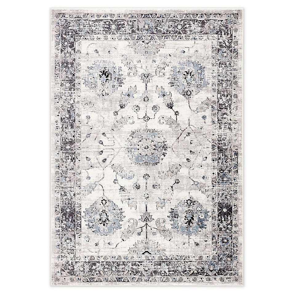 Jaipur Living Nashira 7 10 X 10 10 Area Rug In White Grey Area