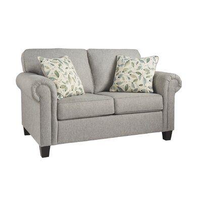 Best Winston Porter Cannes Loveseat Furniture Love Seat 400 x 300