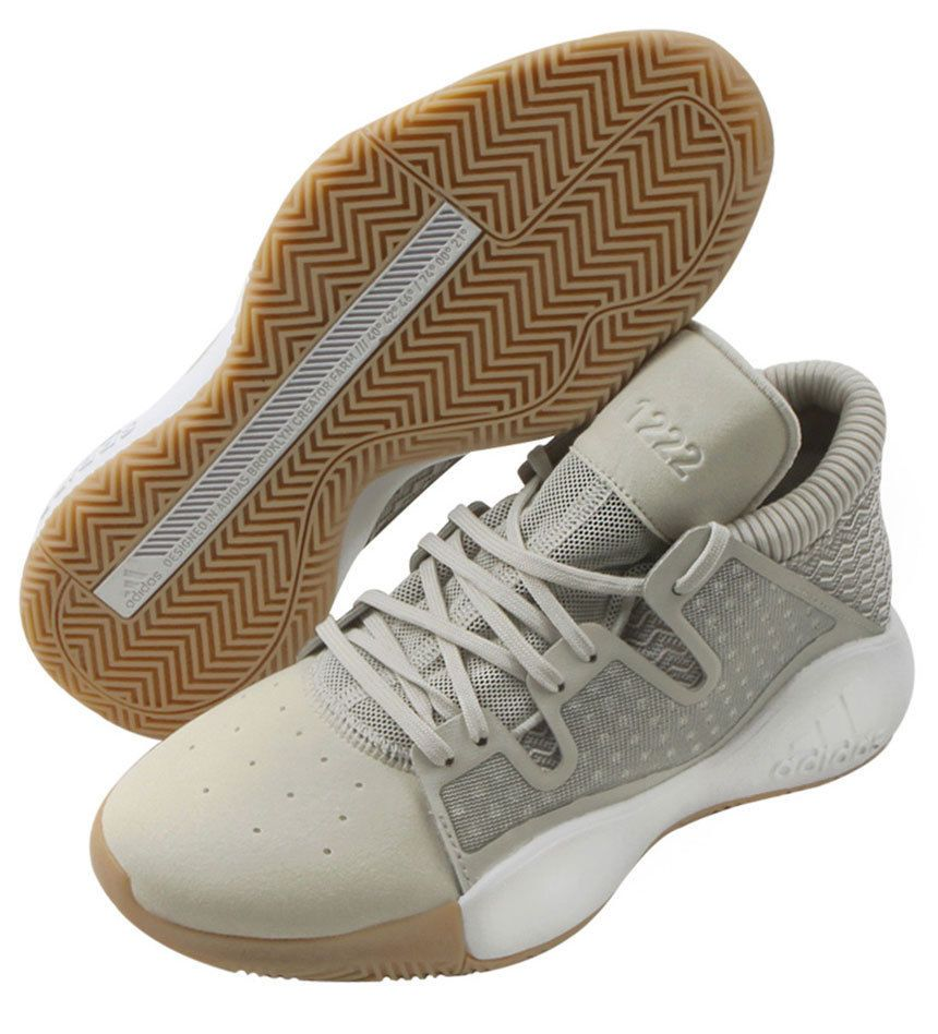 newest collection b5ecf 3fa4c adidas Pro Vision Men s Basketball Shoes NBA Casual Beige Sports Bounce  D96945  adidas  BasketballShoes