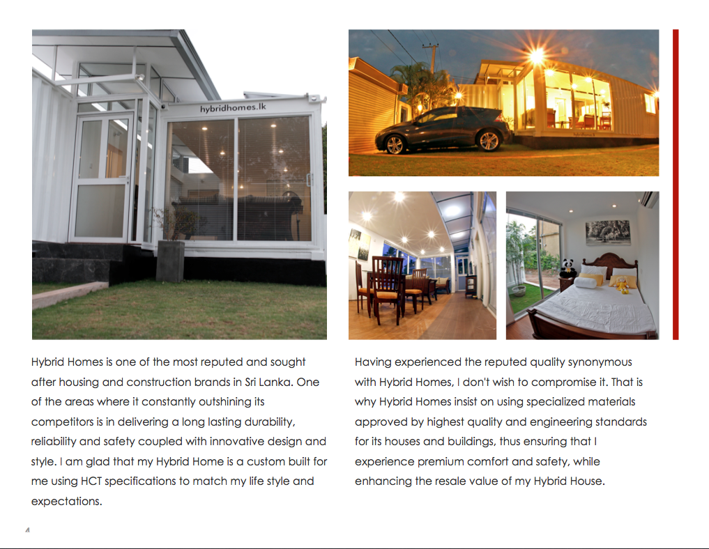 Hybrid Homes - The Luxury Houses made from shipping