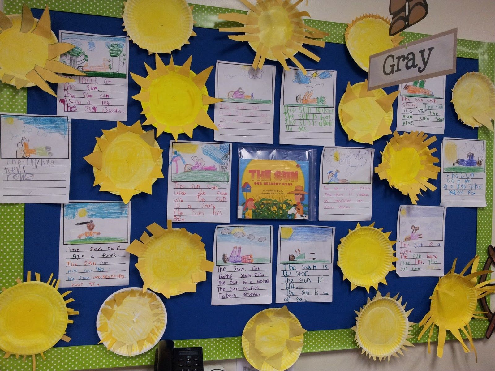 Chalk Talk A Kindergarten Blog The Sun And Stars