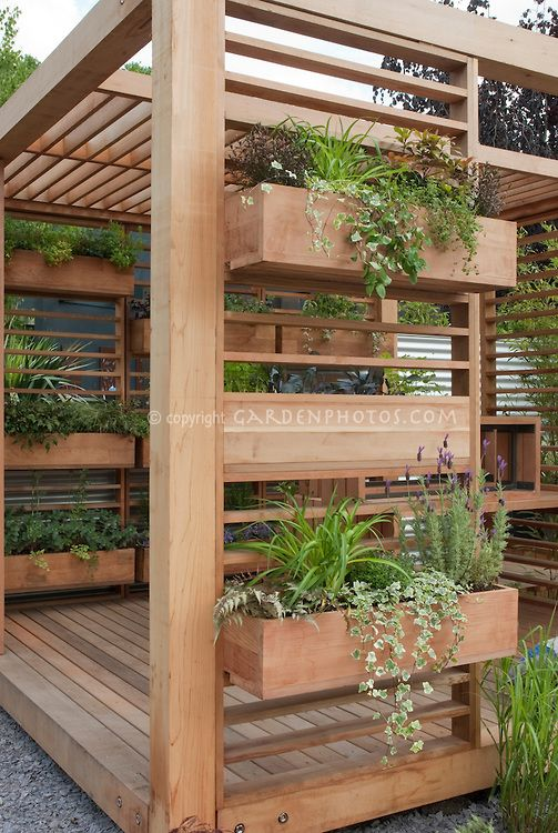 Deck Garden Ideas deck vegetable garden ideas growing vegetable gardens on a deck This Would Be Great With A Jacuzzi Inside Covered Deck With Windowbox Container Garden Is