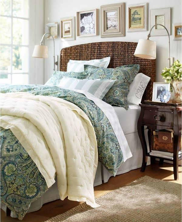 Make Your Bedroom More Bright With Wood Full Size Bed | Seagrass ...