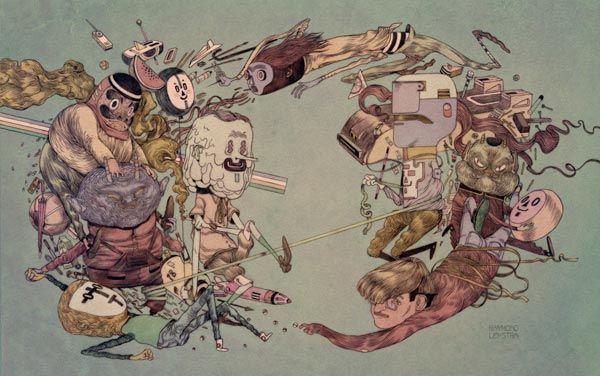 Circle - Illustration by Raymond Lemstra