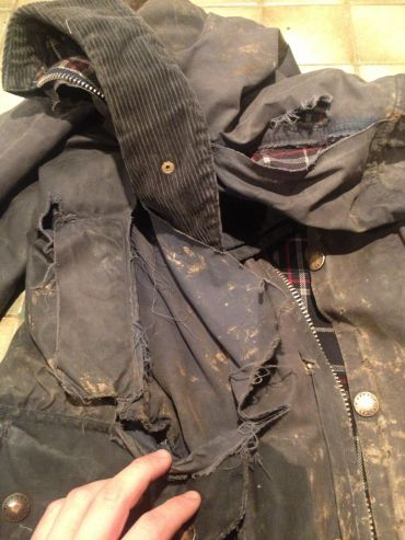 reproof barbour jacket