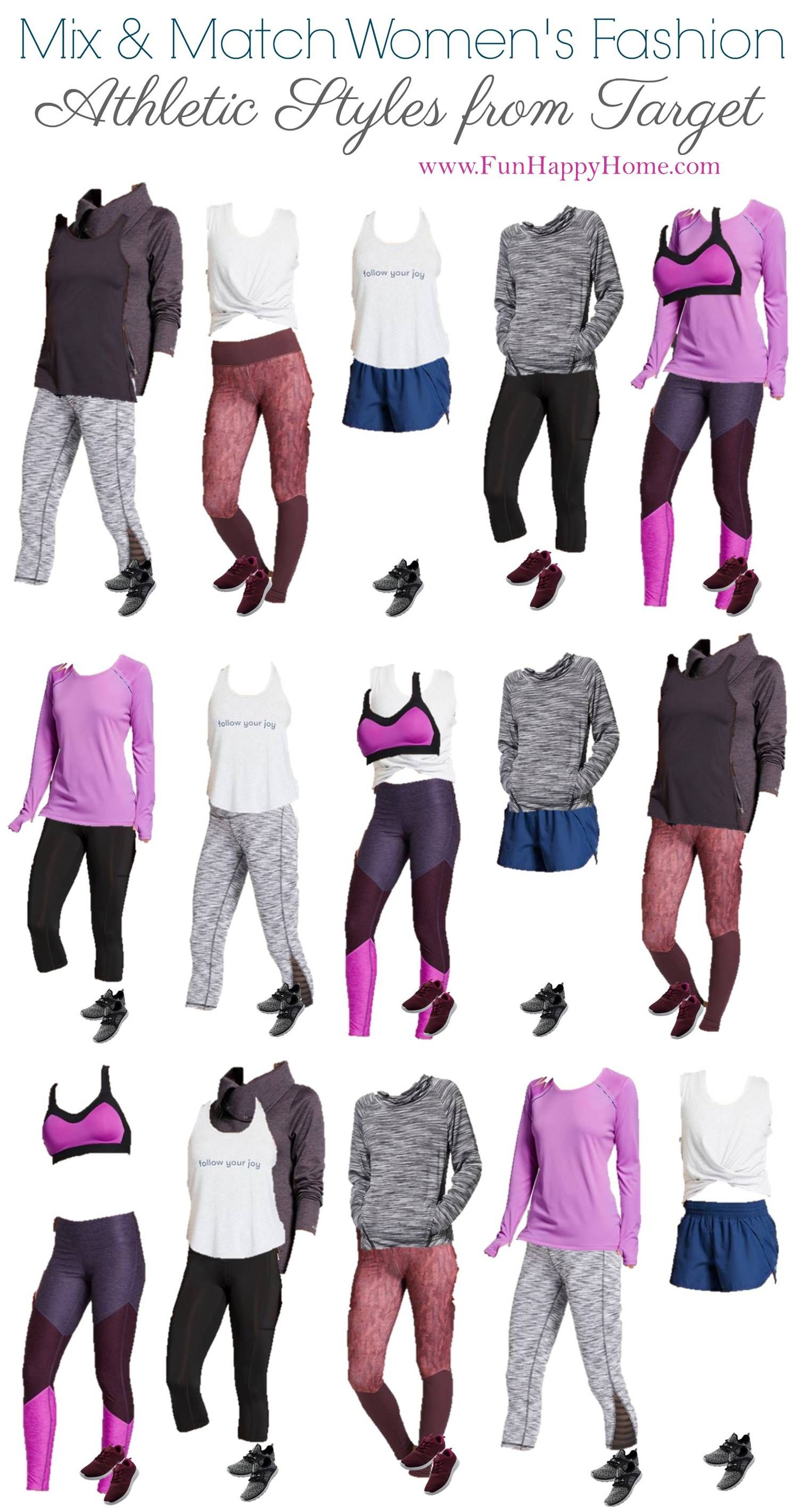 5307eff2127 Cute Workout Clothes  Mix   Match Workout Clothing