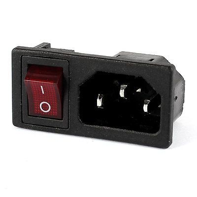 panel iec320 c14 inlet power socket on off spst red rocker switch ac SPST Switch Wiring Diagram panel iec320 c14 inlet power socket on off spst red rocker switch ac 250v 10a affiliate