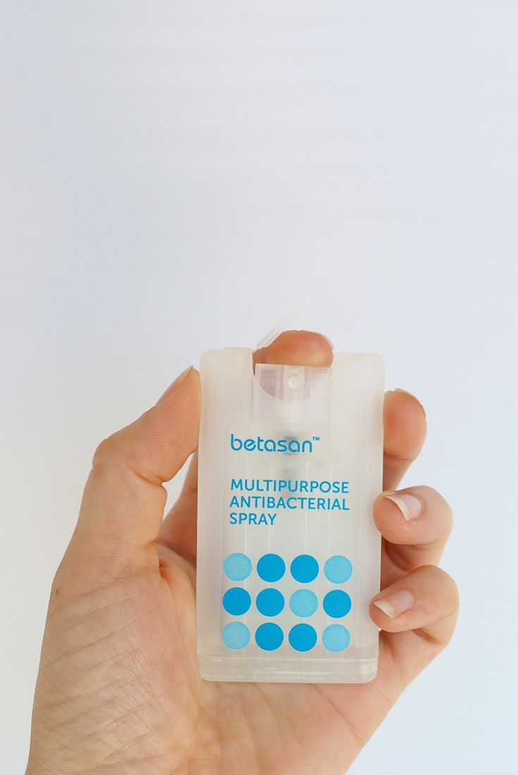 Betasan Pocket Hand Sanitizer Label Design This Small Hygiene