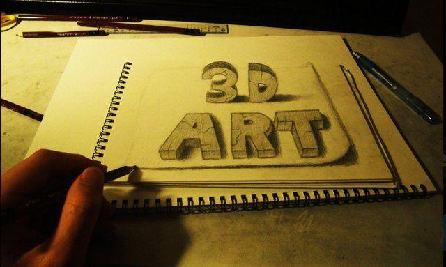 Kumpuan Gambar 3D Menakjubkan Buatan Tangan Manusia - http://asaljadi.com/kumpuan-gambar-3d-menakjubkan-buatan-tangan-manusia/