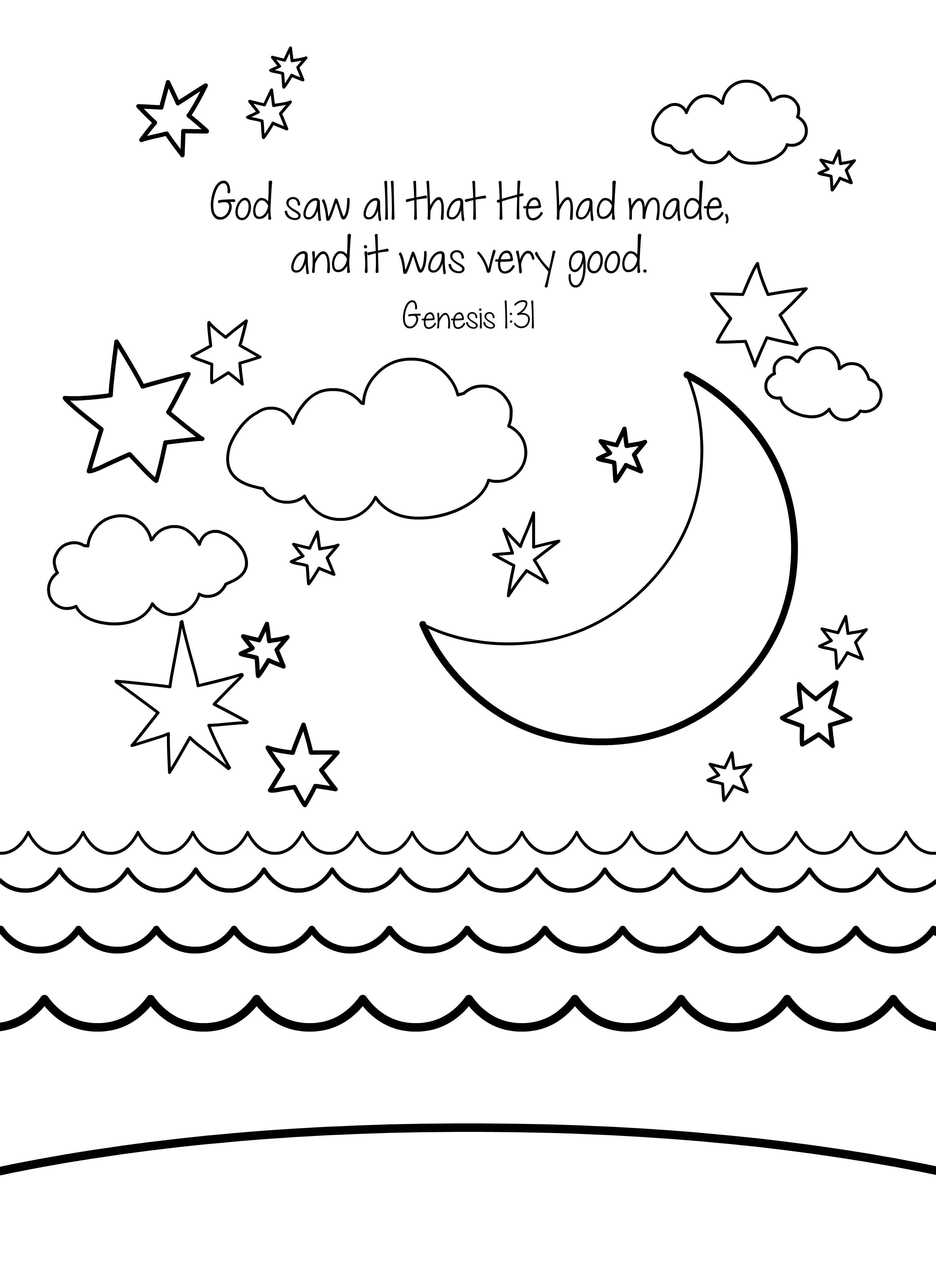 Creation Coloring Pages With Daniel And The Lions Den Page