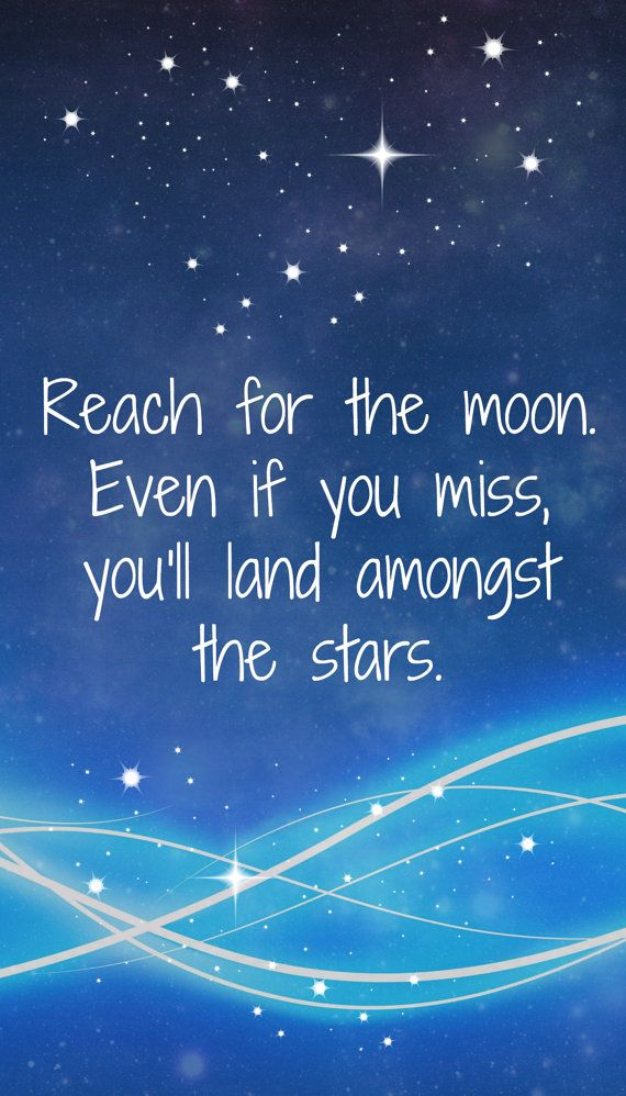 Reach For The Moon Digital Printable By Louisemccairns On Etsy