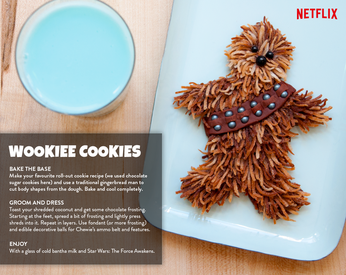 Star Wars The Force Awakens Now On Netflix Canada | Recipes | Wookie