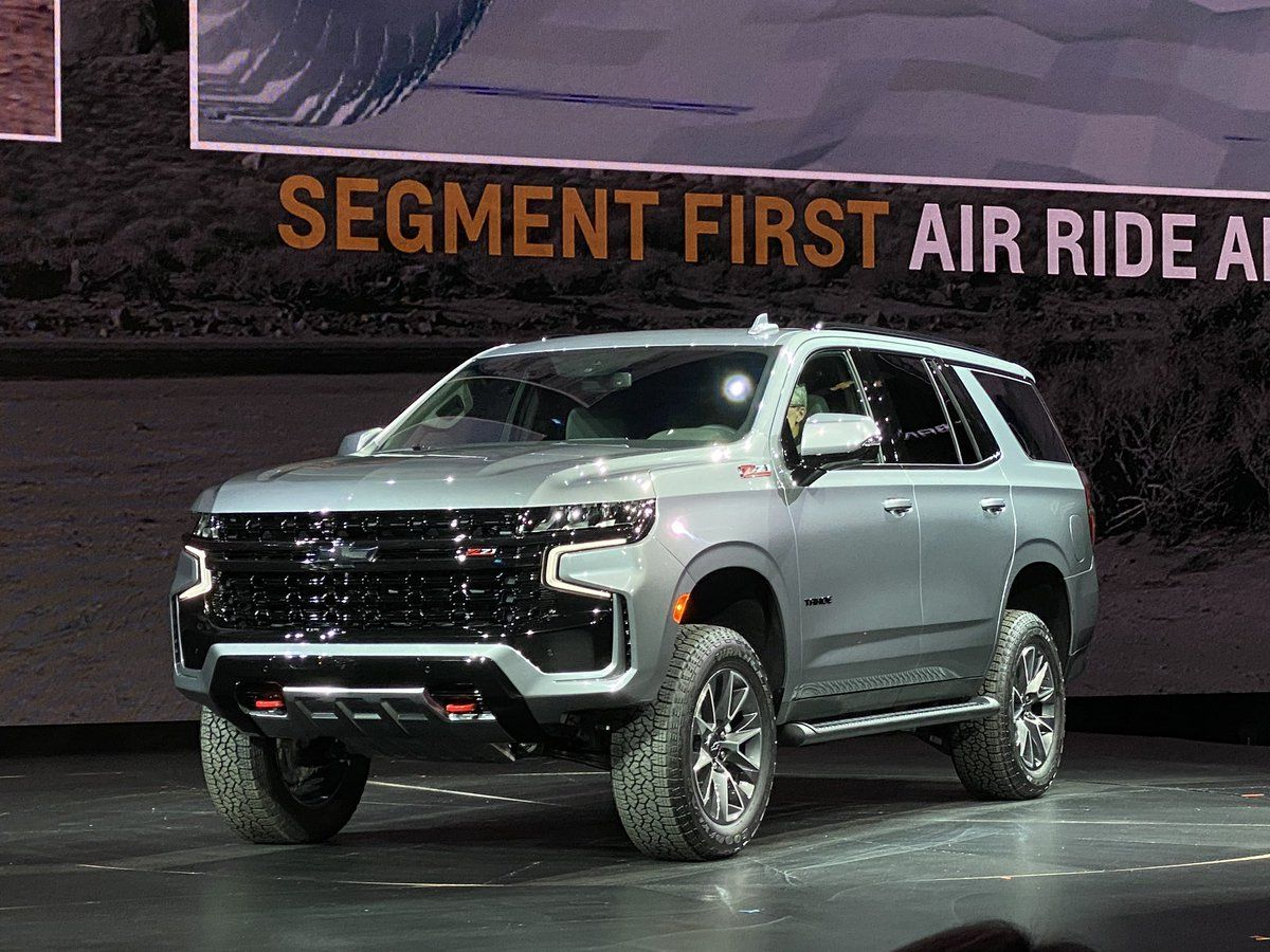 The latest 2021 Chevrolet Tahoe Z71 looks more sporty than