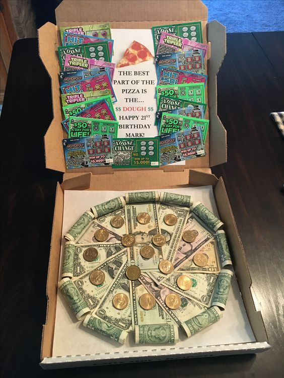 Last Minute DIY Christmas Gifts You Can Make in No Time – Pizza Money Gift #christmasgiftideas