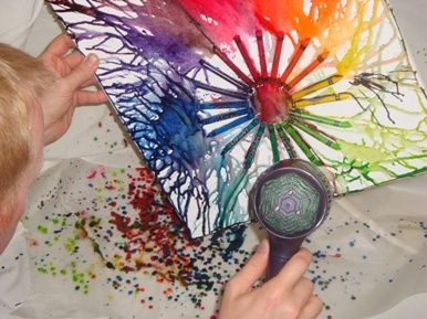 Cool Project Ideas Ideas Cool Crayon Melting Ideas