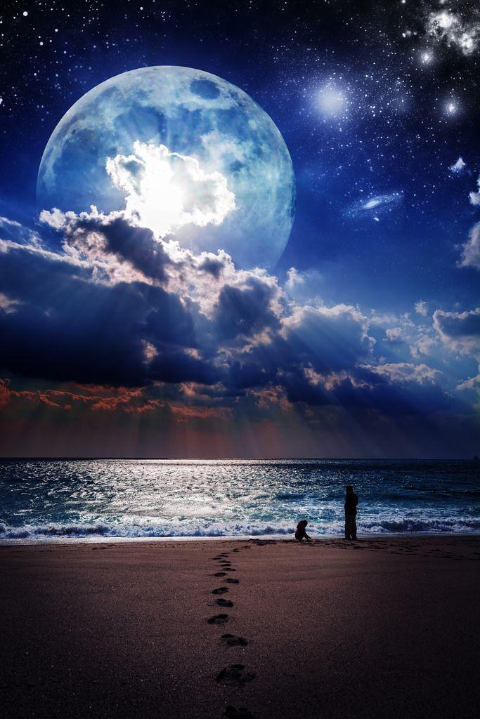 Moon Night By Tomophotography Beautiful Nature Beautiful