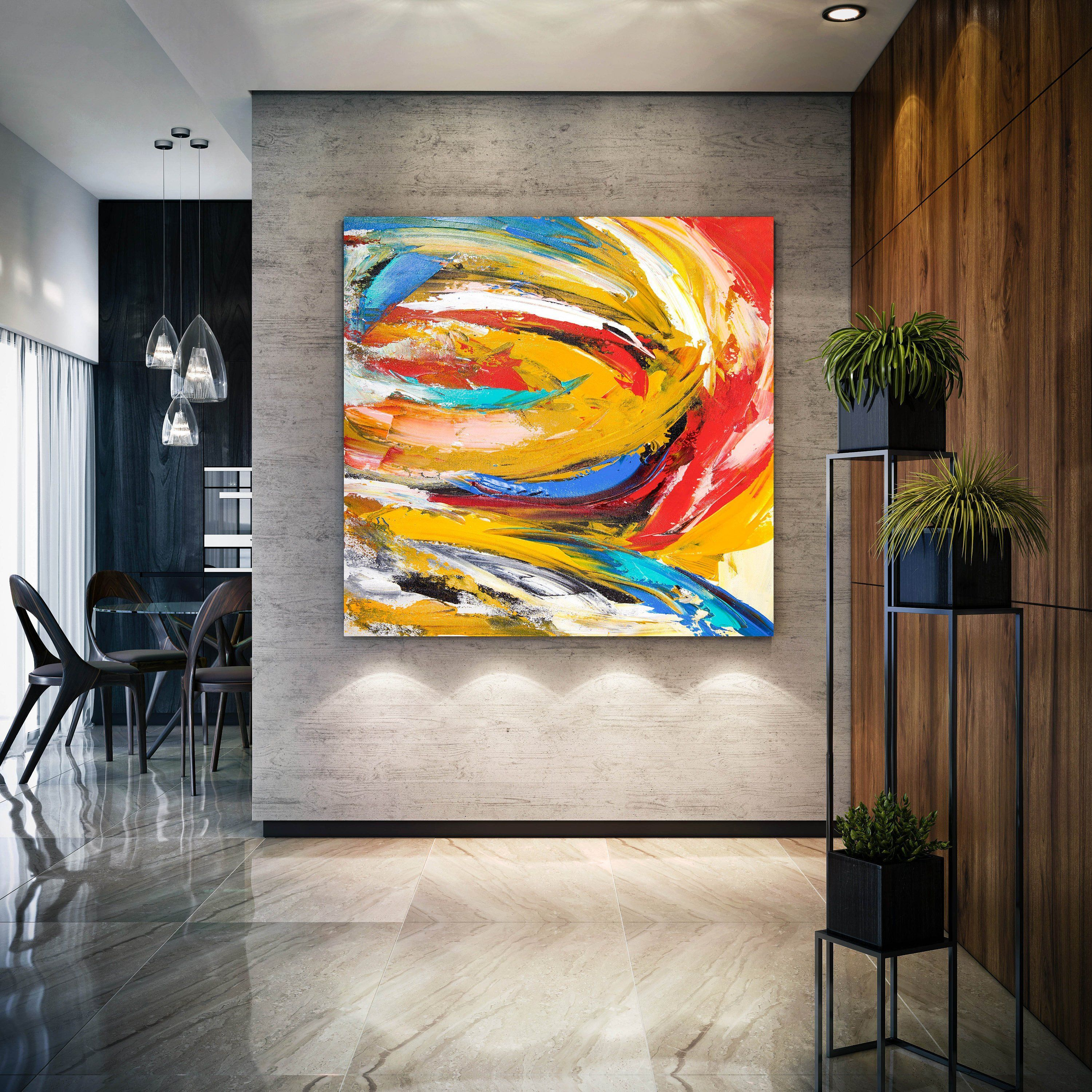 Extra large original abstract painting painting on canvas