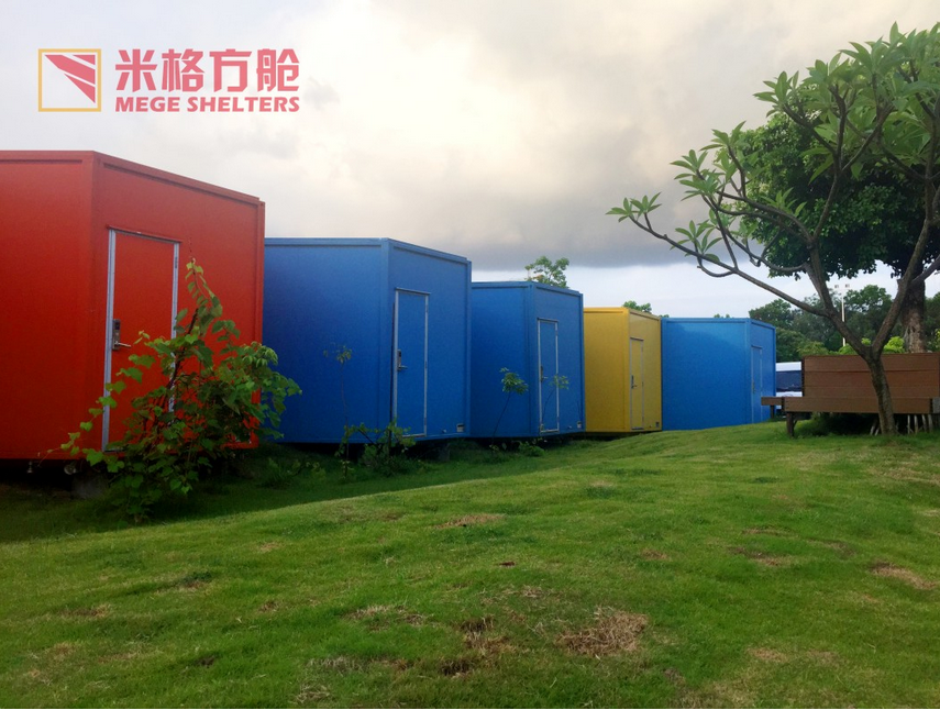 Outdoor Mobili ~ Outdoor modular mobile camping container house for accommodation