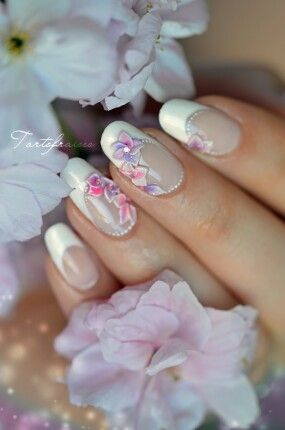 Ongles fleur de cerisier