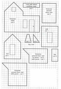 Victorian gingerbread house blueprint christmas pinterest victorian gingerbread house blueprint malvernweather Choice Image
