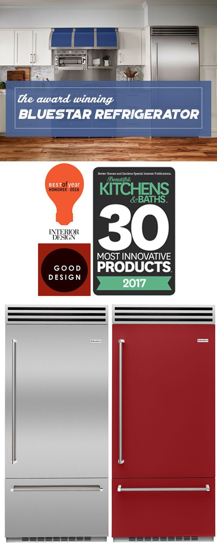"36"" Built-In Refrigerator 