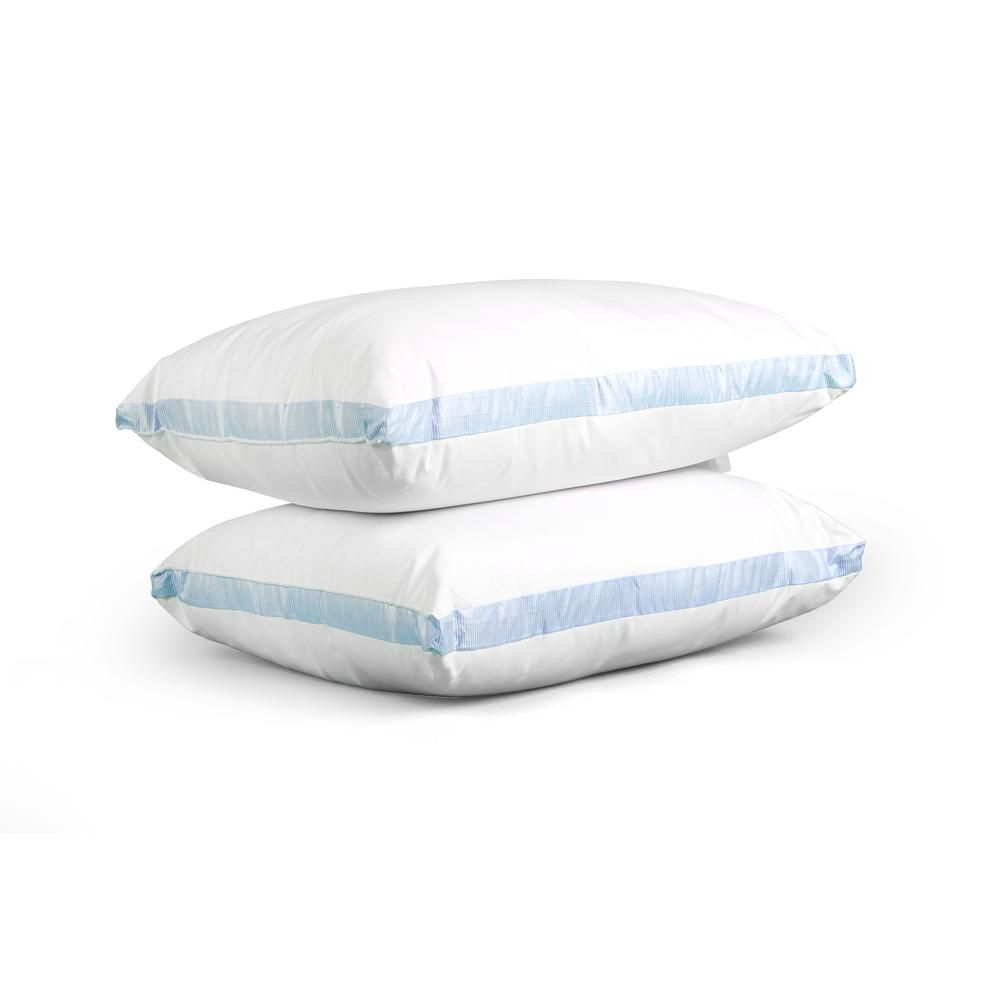 Iso Pedic King Ultra Cooling Microfiber 2 Pack White In 2019