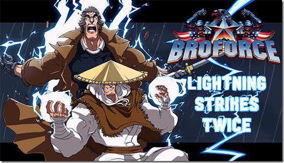 Mortal Kombat S Raiden Is Now Playable In Broforce As Broden