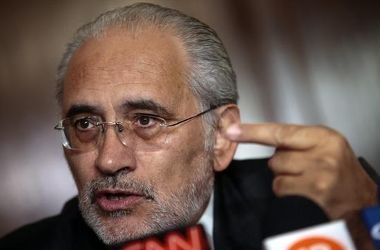 El vocero de la causa marítima Carlos Mesa.   Foto archivo -   Efe Agencia