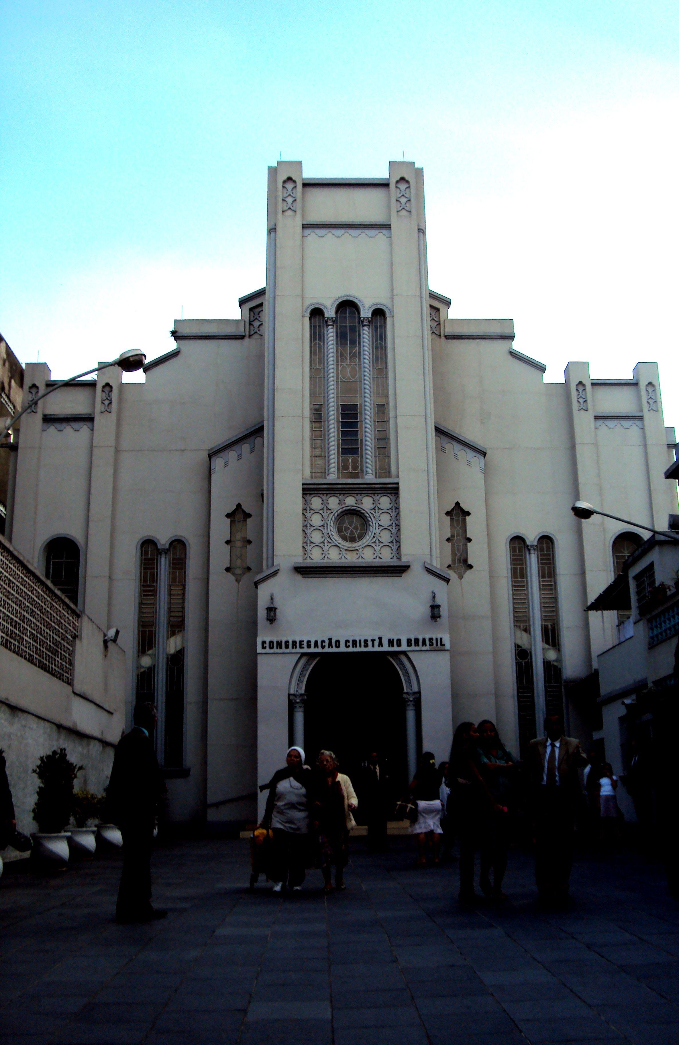 Bom Retiro, SP - Brasil. Primeira Igreja da CCB de Alvenaria no país.