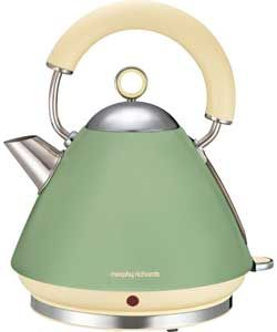 Morphy Richards 102001 Traditional Kettle Sage Green