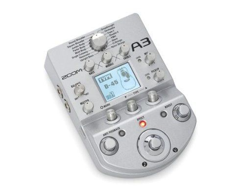 Zoom A3 Acoustic Modeling And Effects Pedal B Stock With Full Warranty Musical Supply Direct Acoustic Guitar Acoustic Guitar Gadgets