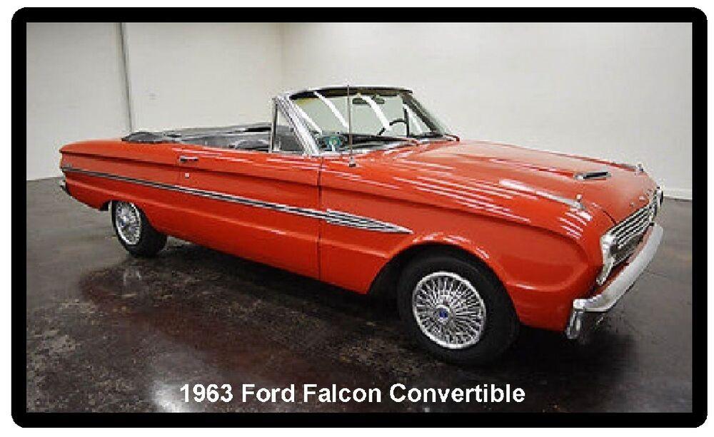 Tool Box  Magnet 1960 Ford Falcon Car Auto  Refrigerator