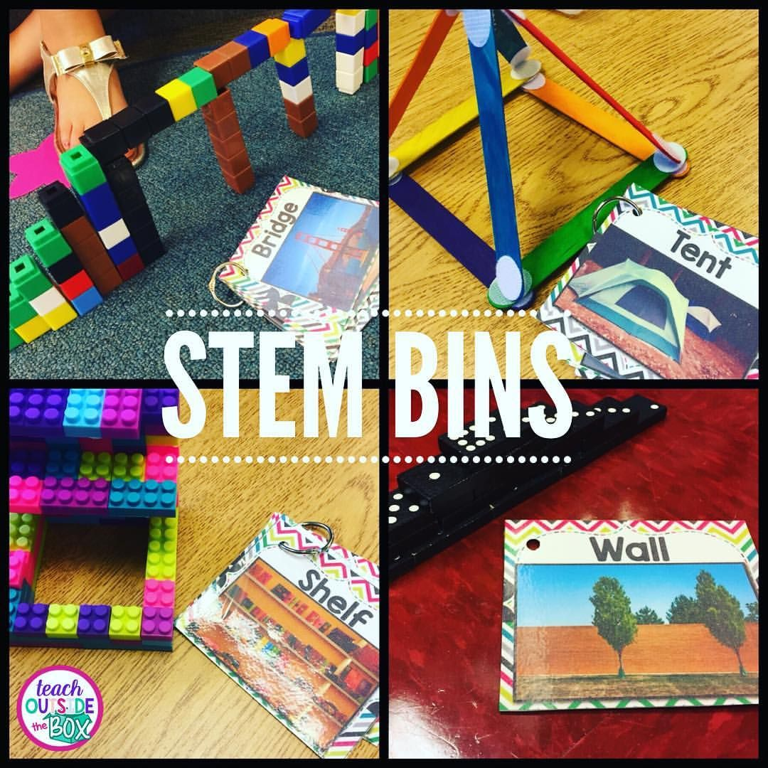 Stem Bins Hands On Solutions For Early Finishers