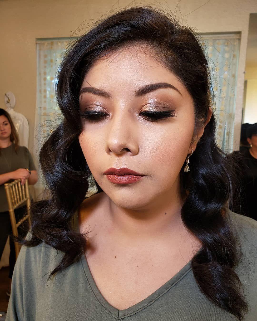 Makeup by Megan Berven at Glass Chapel in Broken Arrow