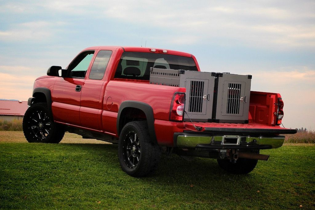 Truck Bed Dog Crates Vehicle Organization Dog Crate