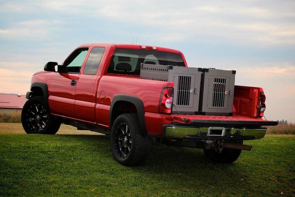 Truck Bed Dog Crates   Vehicle Organization   Pinterest ...