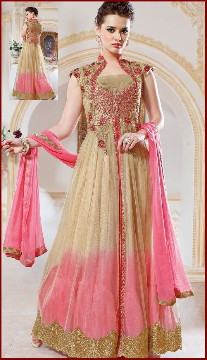 e1107ad89d96 Designer Anarkali Frock Suits Collection For Girls  Frock ...