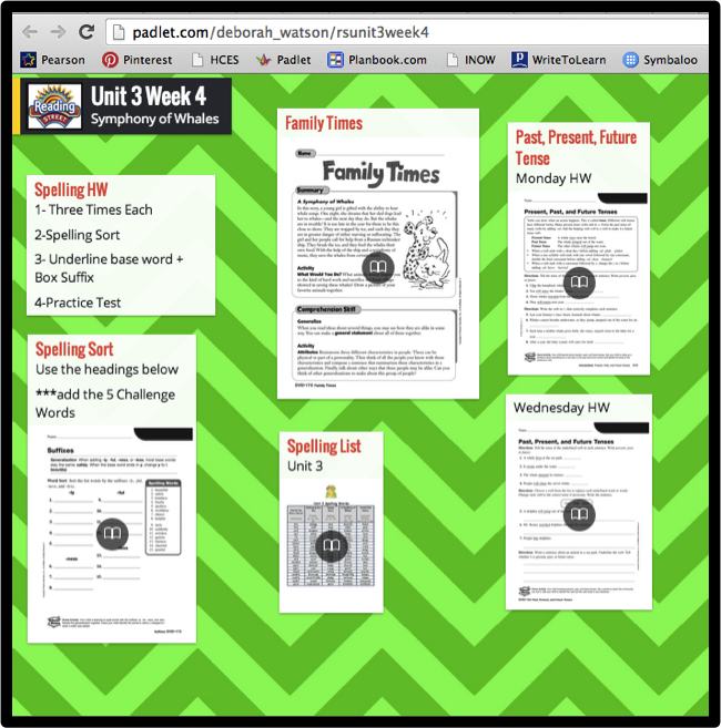 Padlet In The Classroom Classroom Tech School Technology