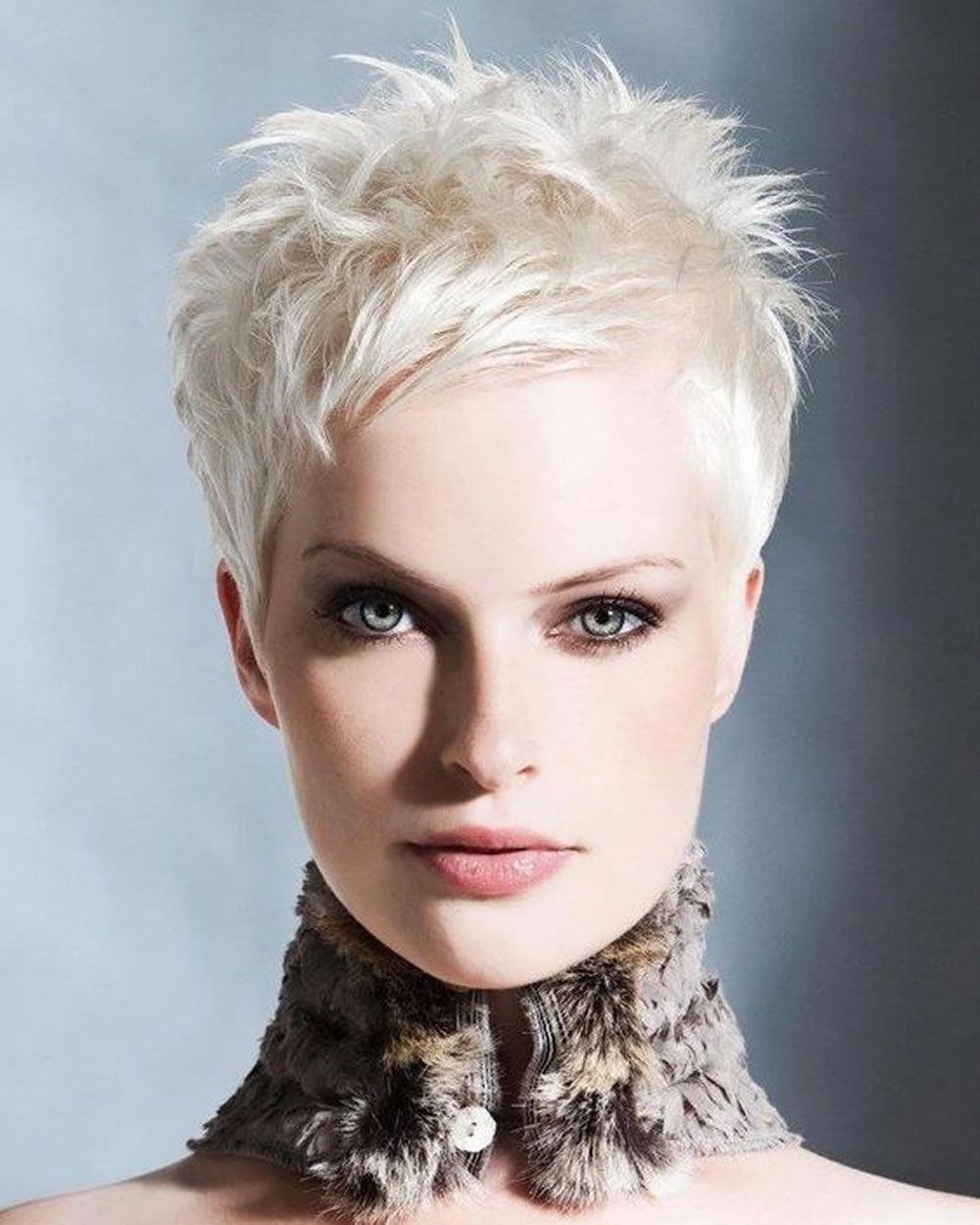 Super Very Short Pixie Haircuts & Short Hair Colors 2018 ...