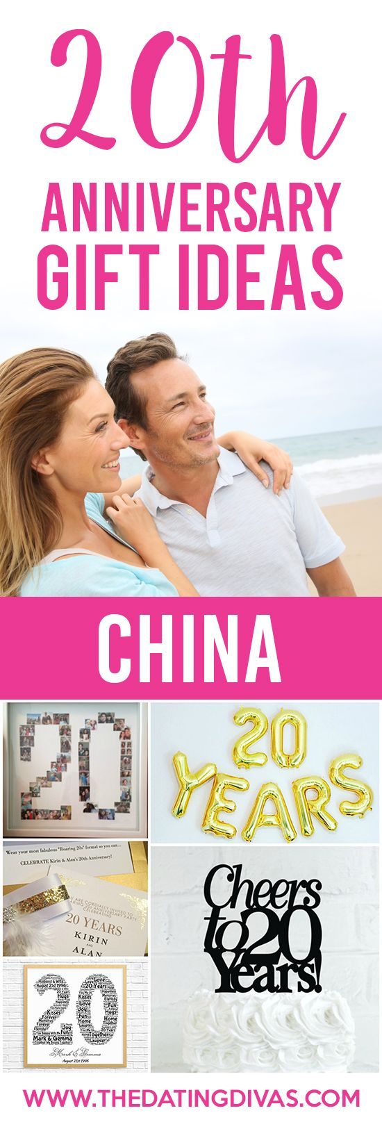 Anniversary Gifts By Year for Spouses From 20th