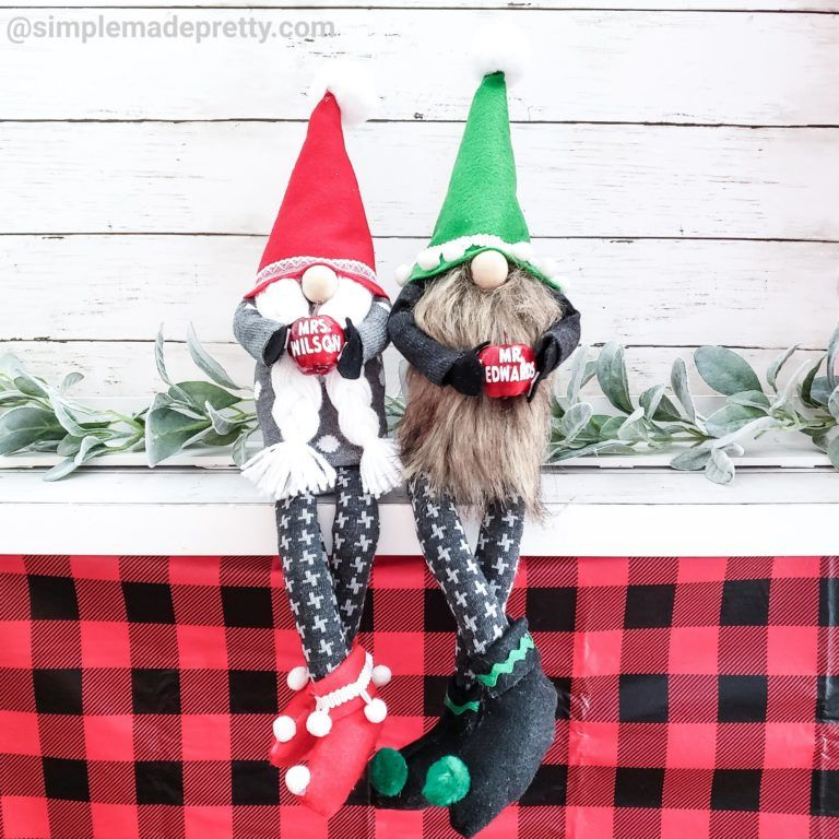 How To Make Gnomes With Arms and Legs Crafts, Gnome