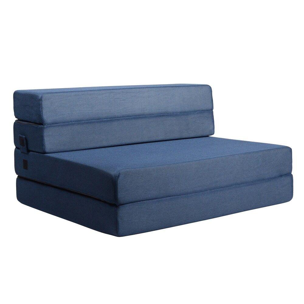 Milliard 4 5 Inch Tri Fold Foam Folding Mattress And Sofa Bed