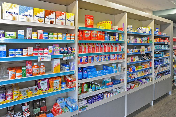 Pharmacy Shelving Decoration Pinterest