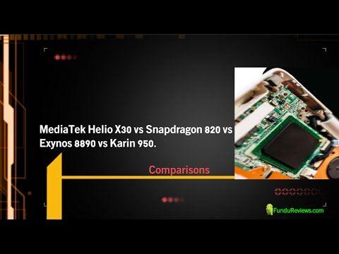 MediaTek Helio X30 vs Snapdragon 820 vs Exynos 8890: The Battle of
