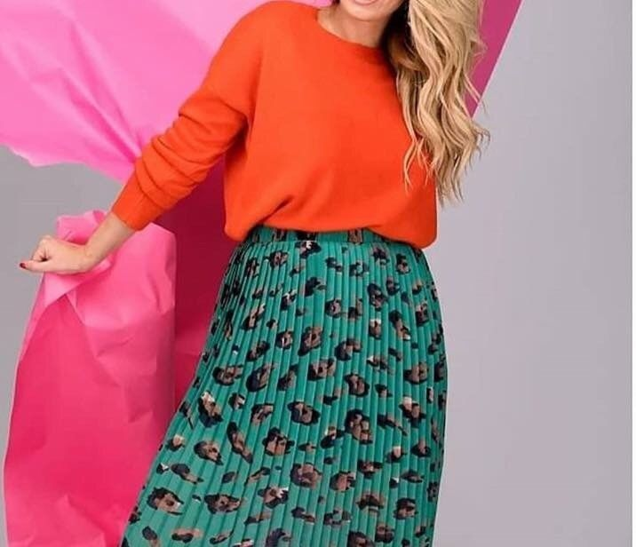Clothing, Shoes & Accessories H&m Mini Skirt Zebra Print Size 10 Bnwt