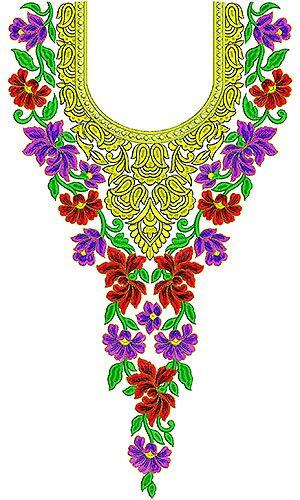 Lucknow Latest Fashion Dresses Embroidery Design  06952aae3f